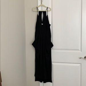 Black, Midi, BCBG Generation Dress with Pockets